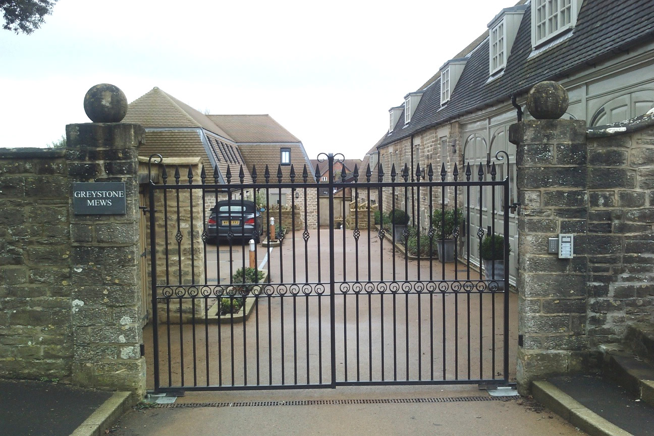 Wrought Iron Gates: Gate Automation- Wrought Iron